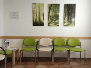 Hausarztpraxis Borchert Grunert - Wartezimmer