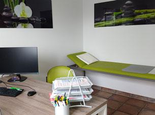 Hausarztpraxis Borchert Grunert - Behandlungszimmer 1