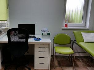 Hausarztpraxis Borchert Grunert - Behandlungszimmer 3