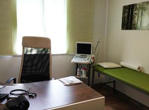 Hausarztpraxis Borchert Grunert - Behandlungszimmer 2